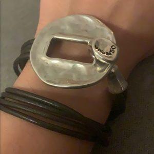 Uno de 50 bracelet choker